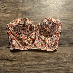 Victoria secret bustier bra 32B